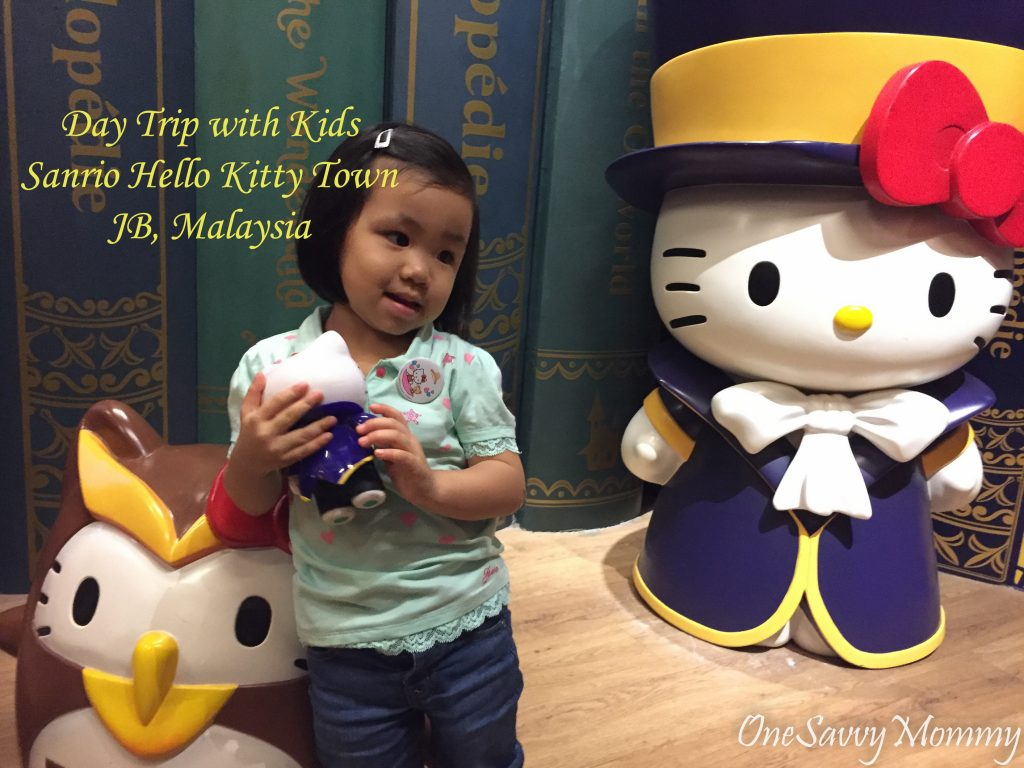 Visiting Hello Kitty Town and Thomas Town in JB with kids